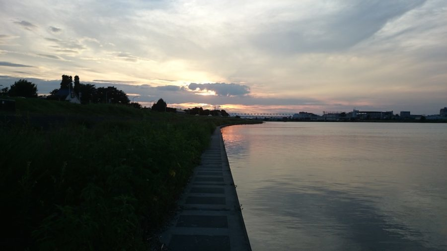 2014.8.3 多摩川 ブラックバス(中野島〜稲田堤)