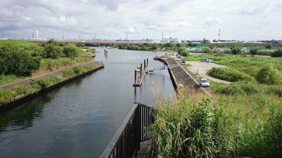 2014.8.31 荒川 ブラックバス(笹目橋付近)