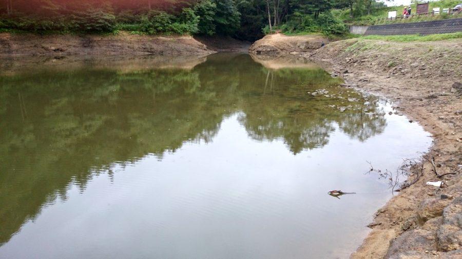 2014.8.16 お盆休みに遠出!月山池、サイカチ沼 ブラックバス(宮城県)