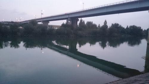 治水橋下流側