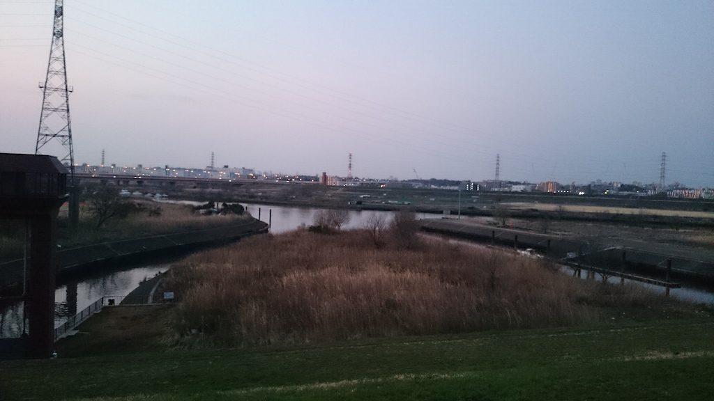 早春のバスを狙いに!荒川の笹目橋付近に行ってきました☆_2