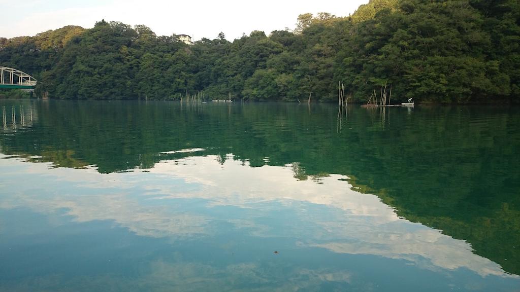 雨の影響で濁り気味の相模湖にて大物ブラックバス狙い☆12
