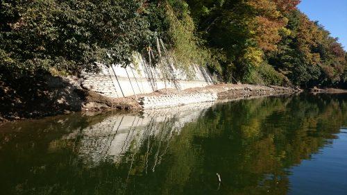 冬水位だから分かる相模湖の魚が付くポイント(吉野入口)