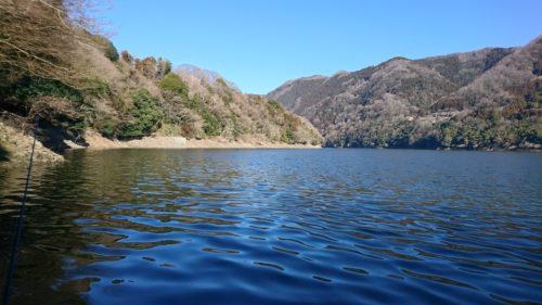 津久井湖へバスフィッシング(2017年3月上旬)