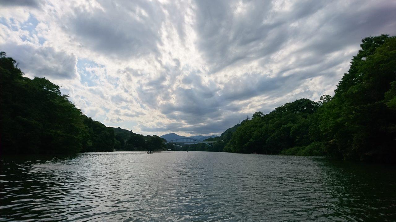 アフター回復系を狙いに相模湖へ---6月4日(日)
