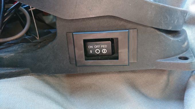 【モーターガイドX3-55V-36″】スイッチカバーを購入★