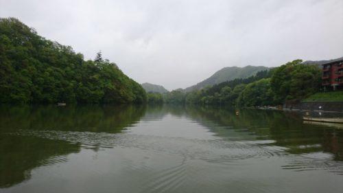 【スマートフォン壊れる・・・】大潮最終日・雨の日の相模湖にて