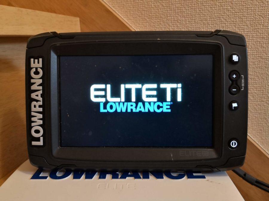 ★ソフトウェア・アップデートでパワーアップ★LOWRANCE ローランス Elite-7 Ti