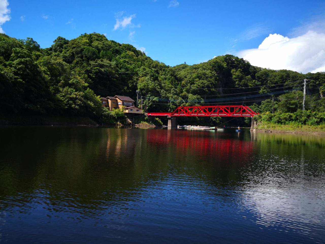 【ともえボートさんから出船!】1年ぶりの三島湖でブラックバス