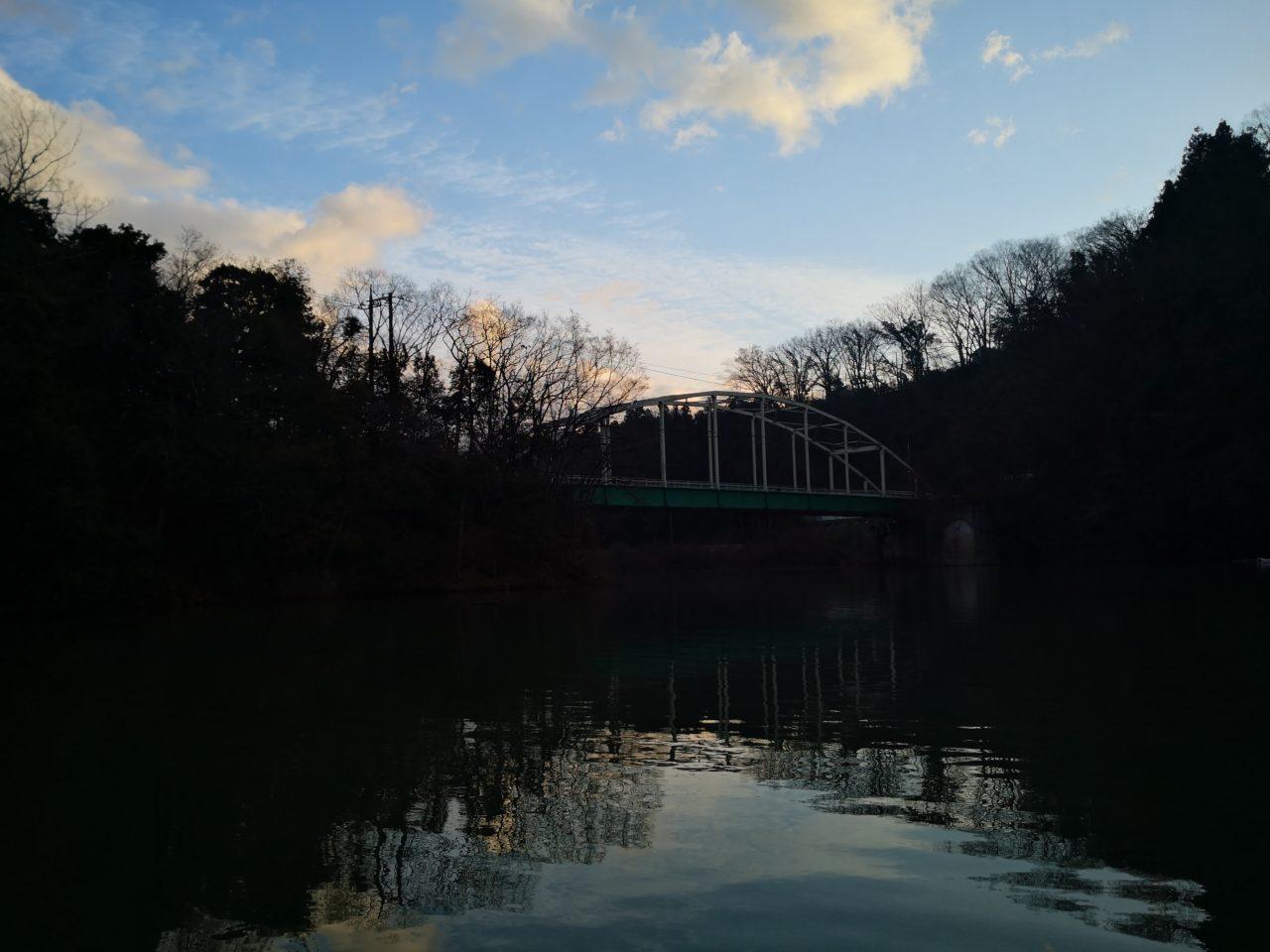 相模湖 2月