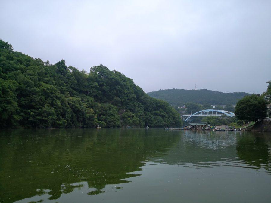 相模湖 秋山川 6月