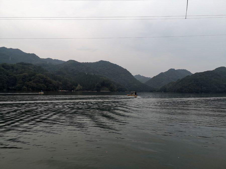 相模湖 10月