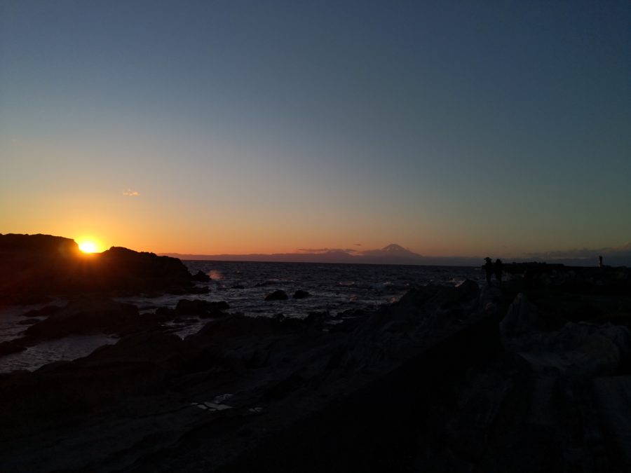 夕暮れ 城ヶ島