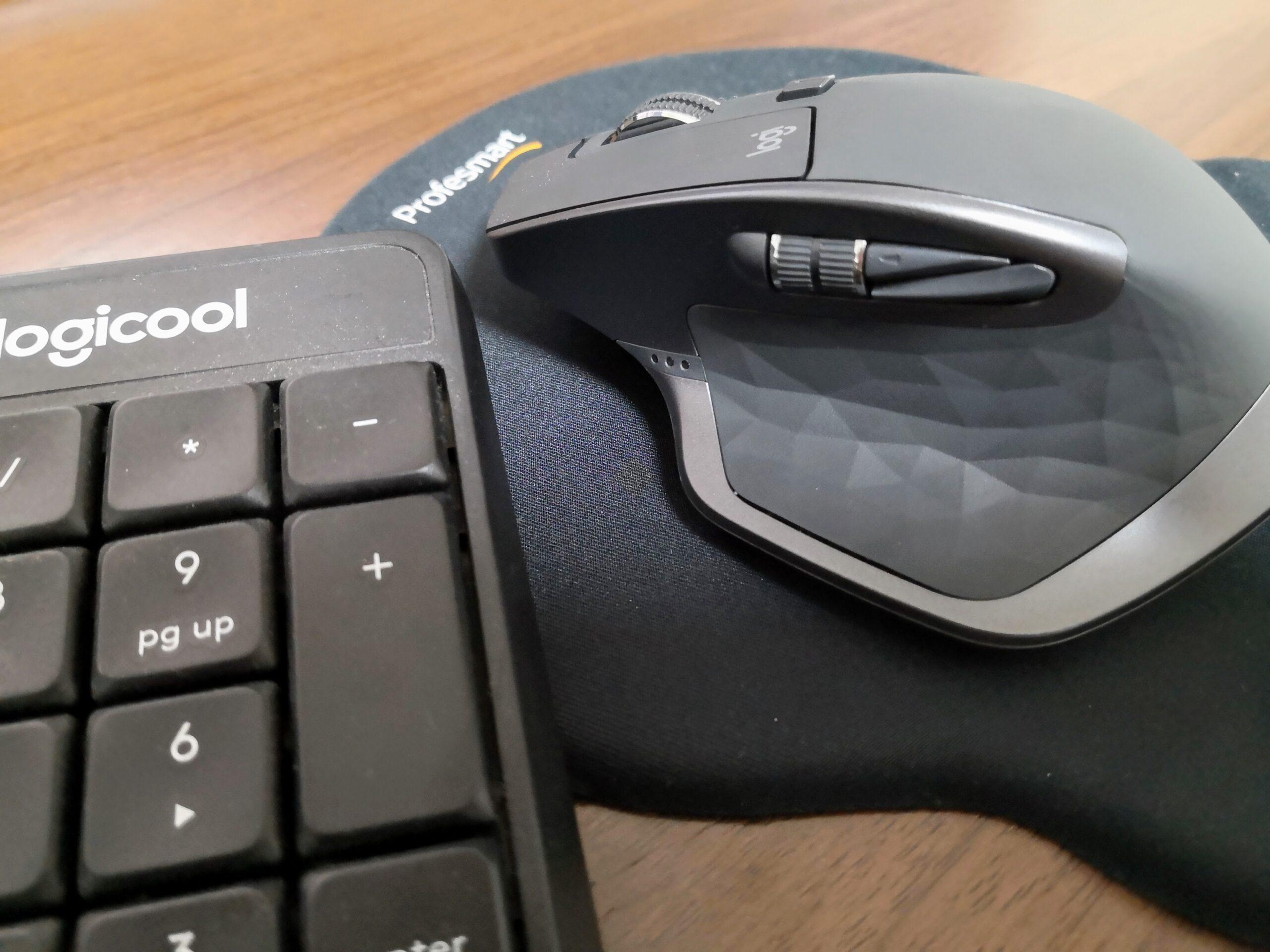 キーボードとマウスを切替式にして在宅勤務が捗るようになった話